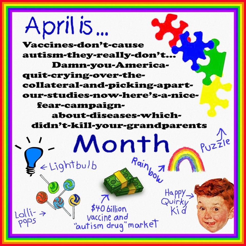 """CDC: """"Allah sizi inandırsın aşılarla otizm arasında ilişki yok, olsa söylemez miyiz?!"""""""